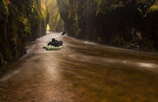 Kayaking Tunnel