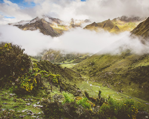 Vilcabamba-View-from-Inca-Trail
